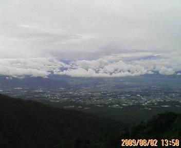 浅間山、下見ファンラン